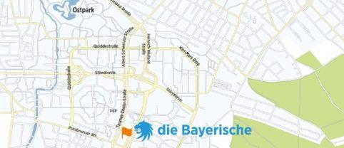Die Bayerische Anfahrtsskizze