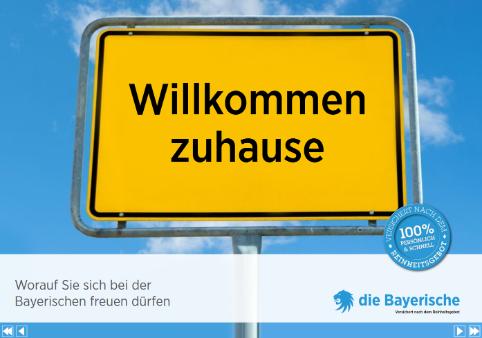 Die Bayerische Flipbook Recruiting