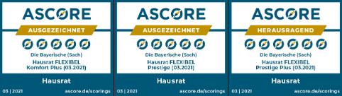 Diebayerische Rating Ascore Hausrat Dreiersiegel
