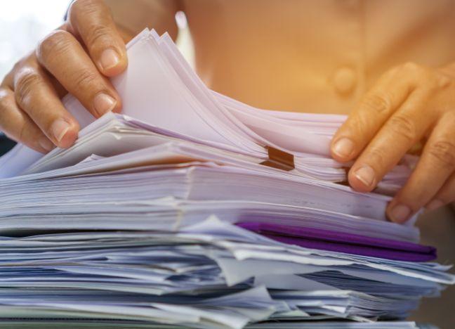 Diebayerische Ratgeber Dokumente Entruempeln